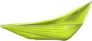 HUI JIN Hamac double en toile de parachute 260 x 150 cm ultra léger pour extérieur, camping, tente suspendue, hamac portab...