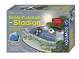 KOSMOS 628192 - Solar-Fußballstadion - Stadion zusammenstecken, mit Solarenergie betanken und beleuchten, Experimentierkasten zu erneuerbare Energien, für Kinder ab 10 Jahre -