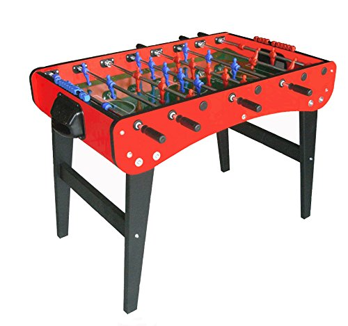 Best Bargain Roberto Sport Family International Red Foosball