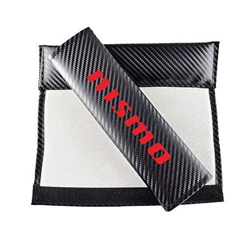 Gurtpolster Auto Gurt Polster Auto Gurtschutz Sicherheitsgurt Schulterpolster Für Kinder Und Erwachsene,Rot,Nissan nismo