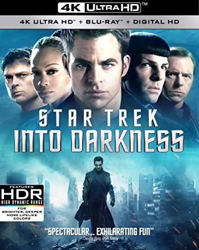 Star Trek Into Darkness Blu ray product image