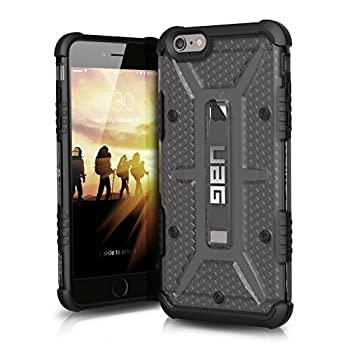UAG iPhone 6 Plus / iPhone 6s Plus [5.5-inch screen] Feather-Light Composite [ASH] Military Drop Tested iPhone Case