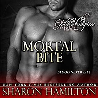 Mortal Bite audiobook cover art