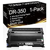 1 Pack DR-350 Black DR350 Compatible Drum Unit Replacement for Brother DCP-7010 DCP-7020 DCP-7025 HL-2040 2040N 2070N 2030 2040 MFC-7220 7225 7820 7420 7820N Printer, Sold by SinaToner.