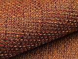 5 Meter Polsterstoff Webstoff Bezugstoff Lava 13 Orange