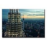 chtshjdtb Kuala Lumpur Twin Towers Poster Malaysia