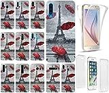 CoverHeld Hülle für Apple iPhone 6 / 6s Handyhülle Design 1107 Eifelturm Paris Frankreich Premium Hülle Silikon Fullbody 360 Grad Rundum SchutzHülle Softcase HandyCover Hülle für Apple iPhone 6 / 6s