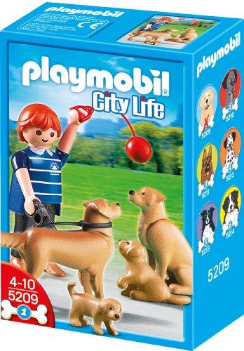 Playmobil 5209 - Golden Retriever-Familie