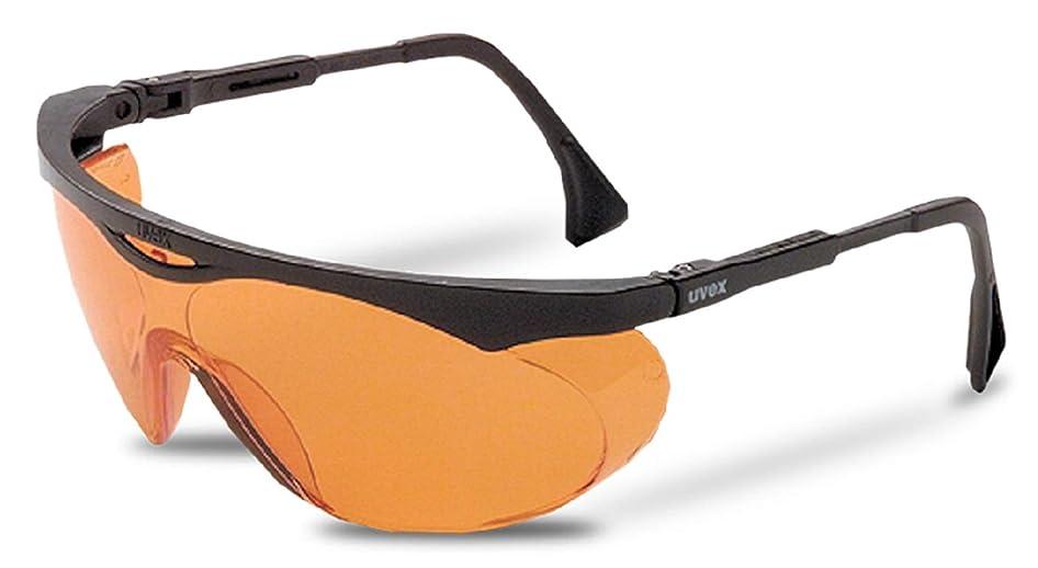 睡眠サラミコンパクトUvex S1933X Skyper Safety Eyewear, Black Frame, Sct-Orange Uv Extreme Anti-Fog Lens[並行輸入品]