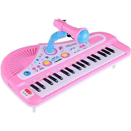 LAVALINK 1 Juego Infantil Que Juega Electronic Piano Educativo del Bebé Juguetes para Niños Teclado Dedos Niños 37 Teclas Regalo De Los Niños