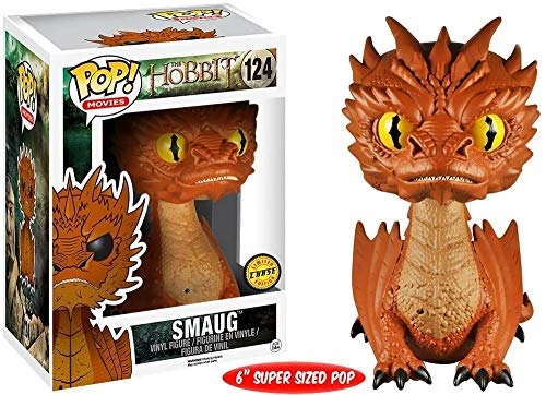 The Hobbit Funko The Desolation Of Smaug POP! Movies Smaug Vinyl Figure #124 [Yellow Eyes]