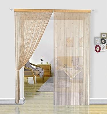 Un panel por paquete. Si necesita un par, solicite dos. Puede elegir diferentes tipos de colores y longitudes de cortinas de hilo para ofrecer lo mejor para su hogar. Buenas pantallas de moscas. No solo bloquean un poco la luz, la suciedad, sino tamb...
