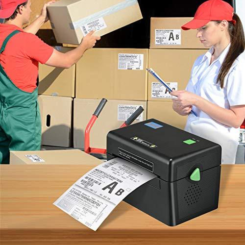 Vogvigo Stampante termica per etichette desktop, Stampante termica per ricevute commerciale ad alta velocità Spedizione Express Label 4 x 6, compatibile con Windows XP 7 8 10