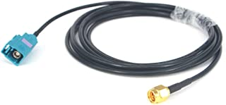 RF Pigtail Fakra Z Female to SMA Male Plug Connector Cable Antenna Extension Cord 6.5 Feet