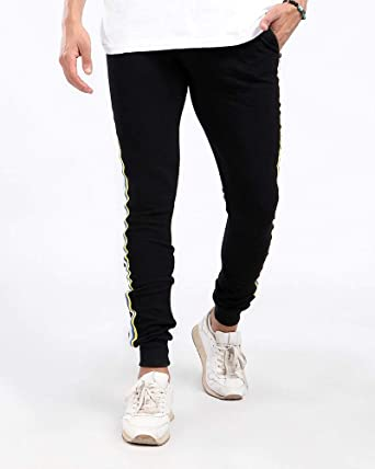 Sqap Zipper sports pants, side strap and unisex pockets