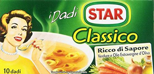 Star, Dado Classico Ricco di Sapore - 10 Dadi, 100 gr