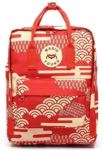 Houguiyuan Einbrecher Rucksack Schultasche Rucksack weiblichen Beutel Rucksack Mode Mutter Tasche Laptoptasche (Color : Rui CAI Xiangyun, Size : 7L)