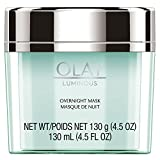 Olay Regenerist Luminous Overnight Facial Mask Gel Moisturizer with...