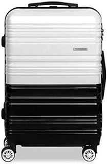 Wanderlite Luggage Suitcase Trolley TSA Travel Hard Case Lightweight PC Black