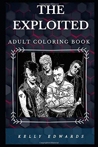 The Exploited Adult Coloring Boo...