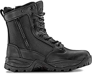 Women's TAC FORCE 8 Inch Military Tactical Duty Work Boot with Zipper