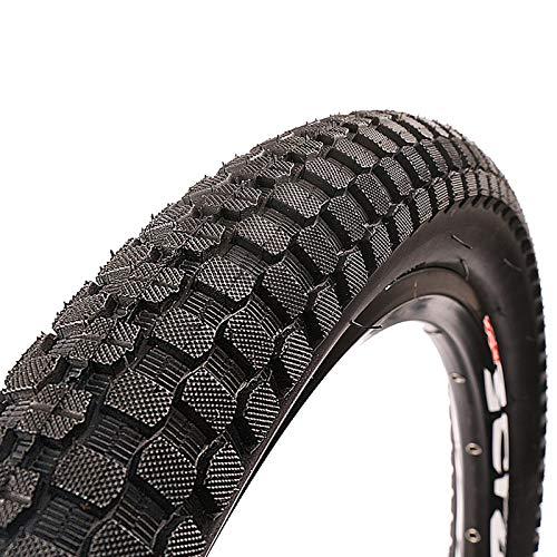 LZYqwq Neumáticos de Bicicleta de Montaña Neumáticos Duraderos Antideslizantes, para Bicicleta de Carretera Híbrida de Montaña MTB(20 * 2.35 inche)