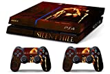 Skin Ps4 Old - SILENT HILL - limited edition DECAL COVER ADESIVA Playstation 4 Slim SONY BUNDLE