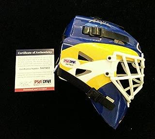Grant Fuhr Signed Mini Helmet PSA