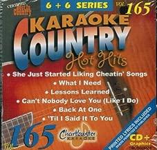 Chartbuster Karaoke Country Hot Hits Vol 165