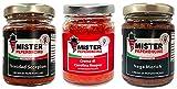 I più piccanti al mondo - Kit creme piccantissime al peperoncino - Mister...