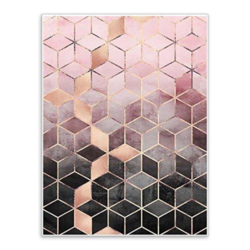 display08 Gradient Cubes Kunstwandposter, Bild, Gemälde, Wanddekoration, 40 x 50 cm