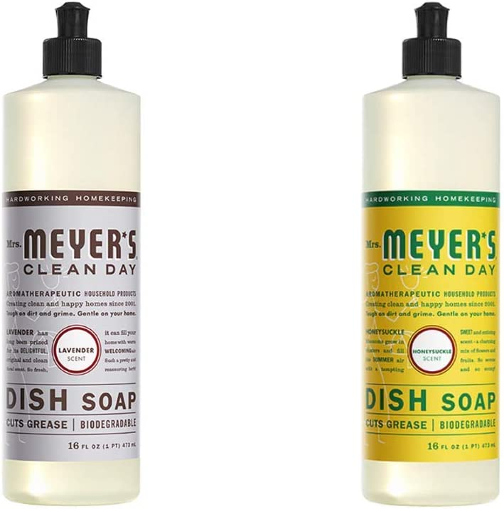 Latest item Mrs. Meyers Clean New color Day Liquid Pack Lavender 1 Dish Soap
