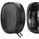 Geekria Auriculares Funda Blando para HD 4.40, HD 450BT, HD 350BT, Momentum 3 Wireless, HD 4.50 Headphones, Bolsa de Viaje Auriculares, Estuche Portáti (Negro)