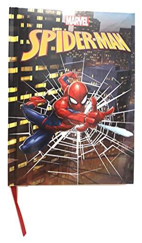 Marvel. Diario escolar de 20 x 15 cm, Spiderman para hombre,...