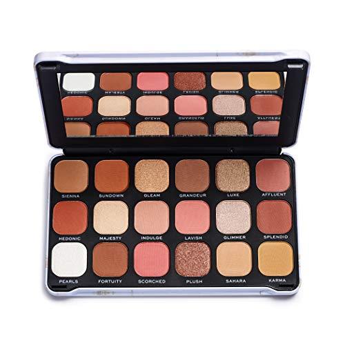 MakeUp Revolution Forever Flawless Lidschatten-Palette, Decadent