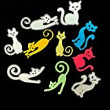 3.9 by 3.9 Inches 5 Pcs/Pack Cats Metal Cutting Dies for Card Making Scrapbooking Halloween Christmas Craft Dies (JA102614)