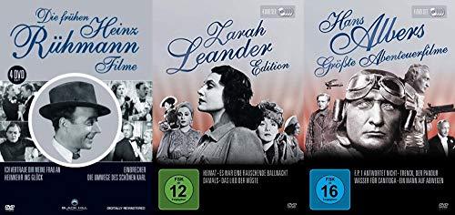 Die große deutschen Filmklassiker mit Heinz Rühmann + Zarah Leander + Hans Albers 12 DVD Edition