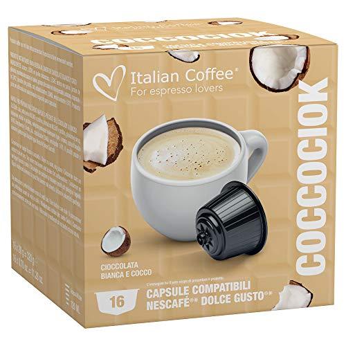 64 CAPSULE COMPATIBILI NESCAFE' DOLCE GUSTO ITALIAN COFFEE (Coccociok)