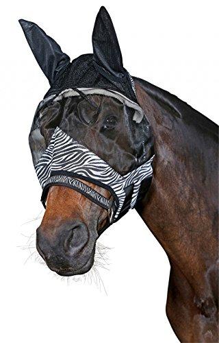 Fliegenmaske Anti-UV Scan Horse Zebra Pony