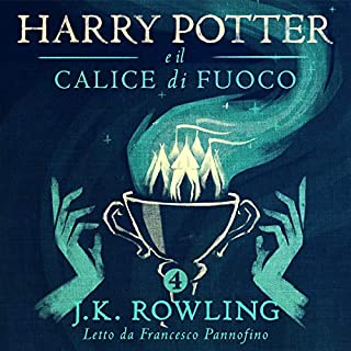Harry Potter e il Calice di Fuoco (Harry Potter 4) cover art