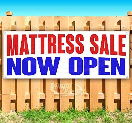 Mattress Sale Now Open 13 Vi oz Non-Fabric Banner Heavy-Duty 日本限定 新作 大人気