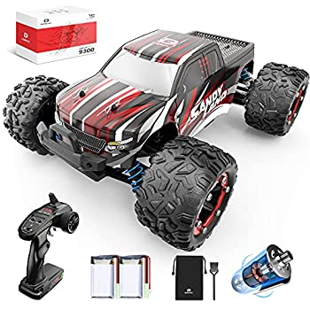 DEERC RC Cars 9300 High Speed Remote Control Car for Kids Adults 1 18 Scale 40 KM/H 4WD Off Road Monster Trucks,2.4GHz All Terrain Toy Trucks with 2 Rechargeable Battery,40+ Min Play Gift for Boy Girl