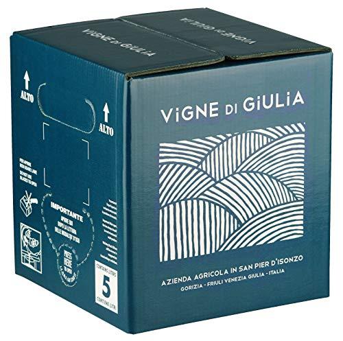 Bag in Box vino Cabernet IGT Venezia Giulia 12% - Vigne di Giulia - confezione 5 L