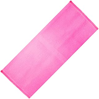 IPOTCH Stretchable Big Exfoliating Nylon Bath Cloth/Towel, Shower Washcloth For Cleaning The Entire Body - Rose red