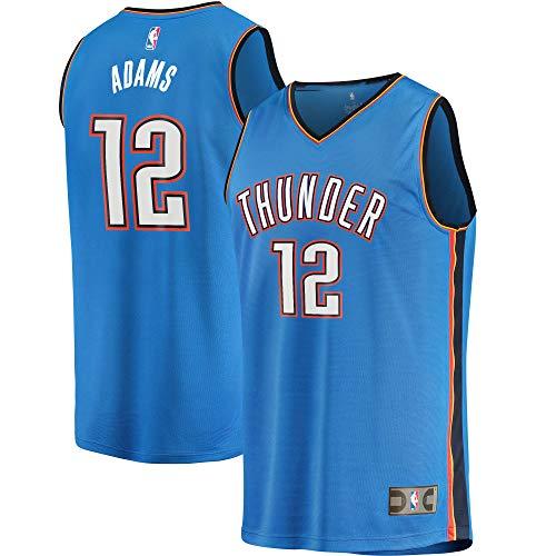 Steven Adams Oklahoma City Thunder #12 Youth 8-20 Blue Icon Edition Swingman Jersey (18-20)