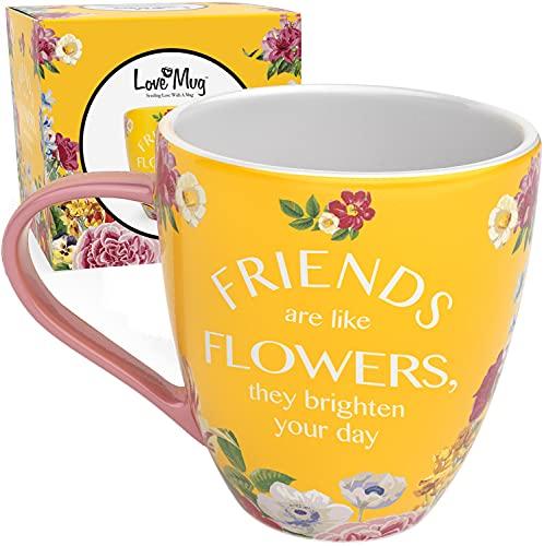 Love Mug: Best Friend Mug - Friend Gifts For Women - Gifts For Best Friends and Friendship Birthday Gifts For Women