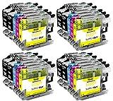 20 cartucce per stampanti con chip compatibile Brother LC223 per Brother MFC-J5320DW MFC-J5620DW MFC-J4420dw MFC-J480DW DCP-J4120DW DCP-J562DW e altro (vedi pagina del prodotto)