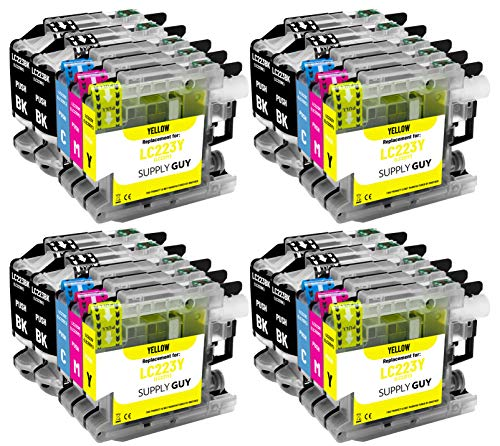 20 Cartouches d'encre Compatible avec Brother LC223 pour MFC-J5320DW MFC-J5620DW MFC-J4420dw MFC-J480DW DCP-J4120DW DCP-J562DW et Plus (Voir Page Produit)