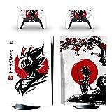 Piel de PS5 para Dragon Ball Esta pegatina de PVC se utiliza para proteger la consola de disco de Playstation 5 y las...