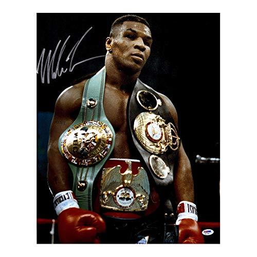Póster de campeón de boxeo de Mike Tyson en blanco y negro, para decoración de pared (60,9 x 91,4 cm)